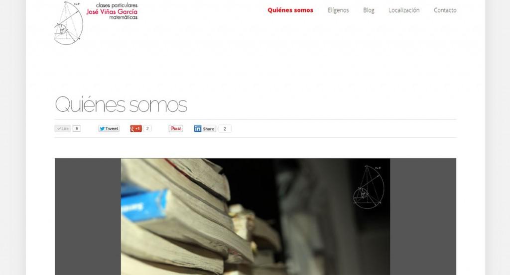 Lanzamiento de la web Clases Zamora