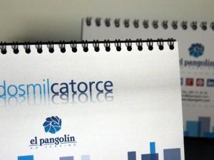 Calendario Pangolin 2014
