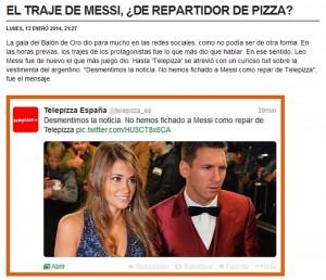 Telepizza en Marca