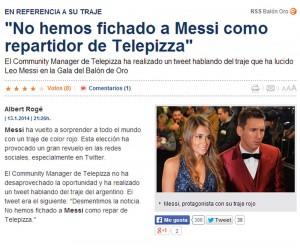 Telepizza en el Sport