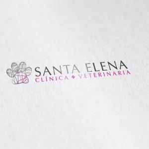 Identidad Corporativa Clínica Veterinaria Santa Elena